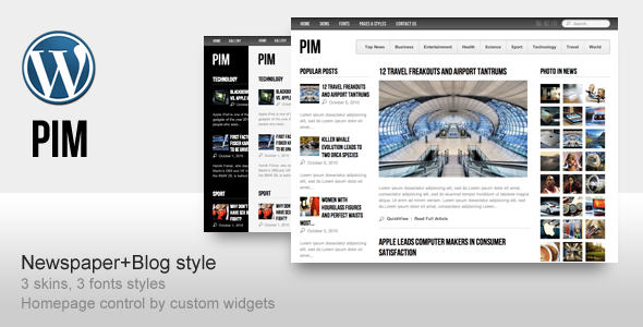 PIM – Newspaper Magazine Theme by ThemeForest