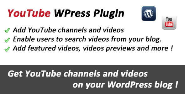 YouTube WPress Videos Integration Plugin by CodeCanyon